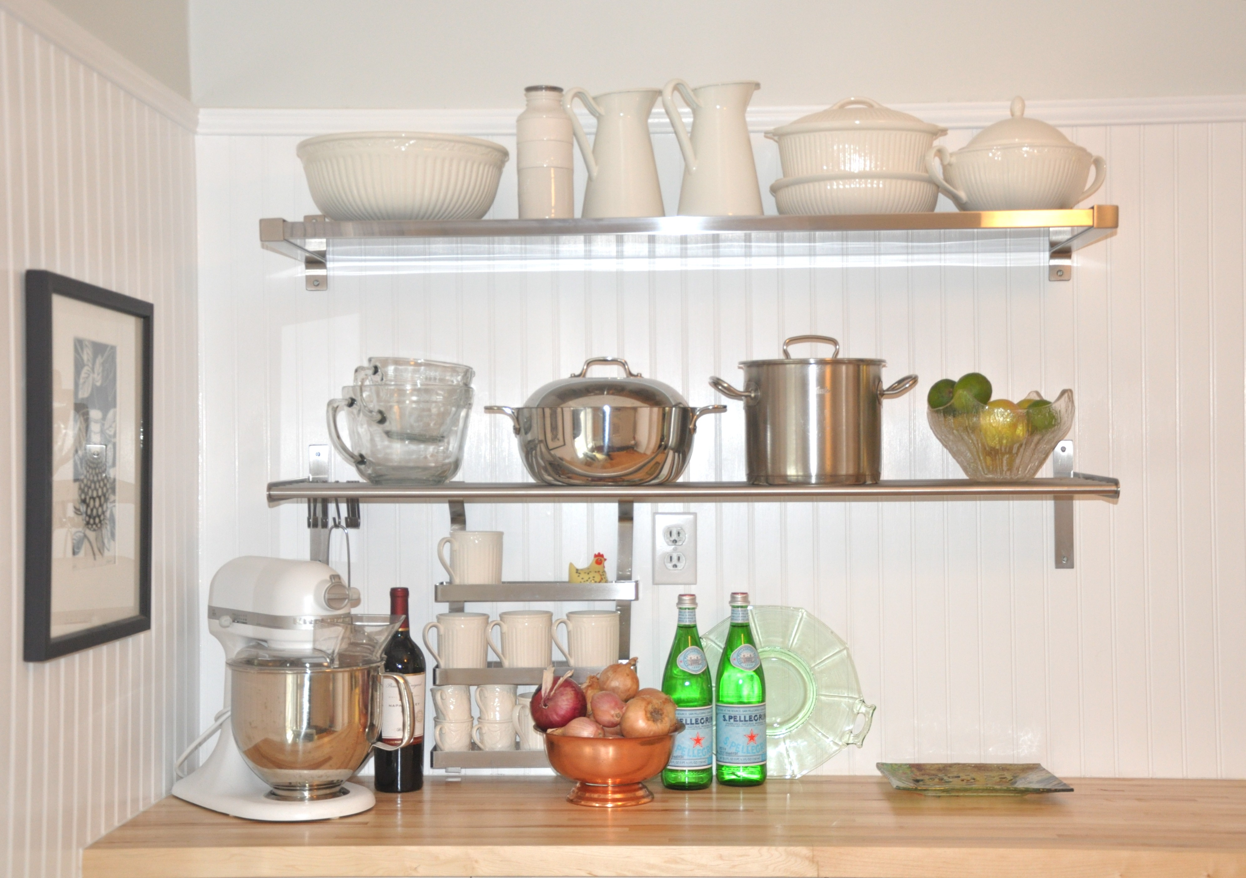 Stainless Steel Floating Shelf Style Meets Function