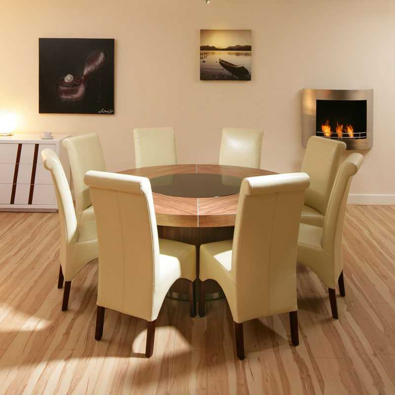 Round Dining Room Sets ... & Round Dining Table Sets For 8 - Castrophotos