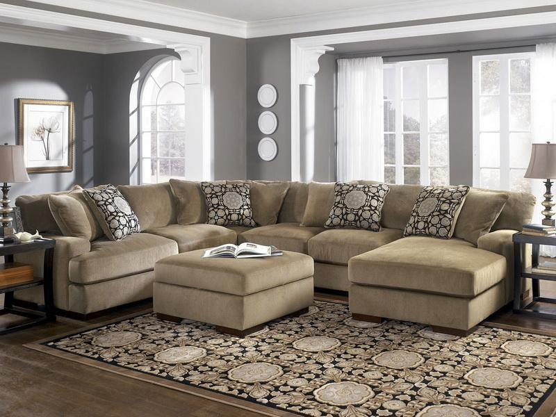 Cool Oversized Couches Living Room HomesFeed - oversized living room sets