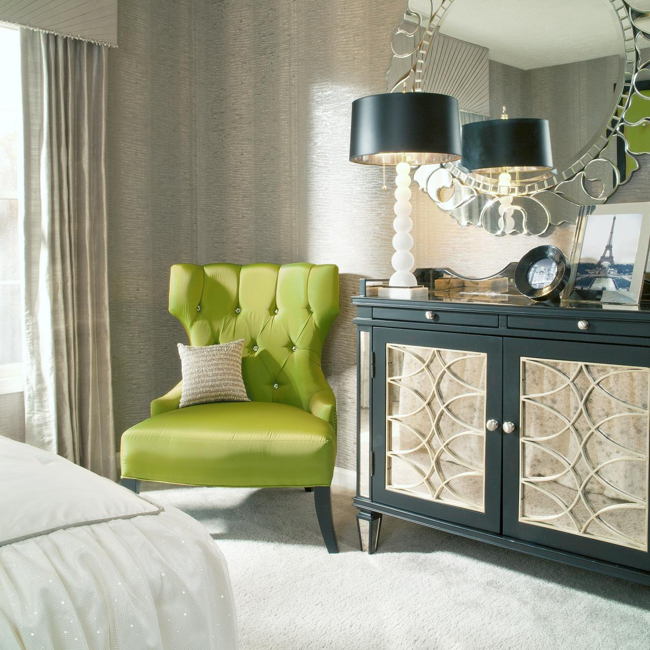 Lime Green Living Room Decor Cool Lime Green Accent Chair Homesfeed