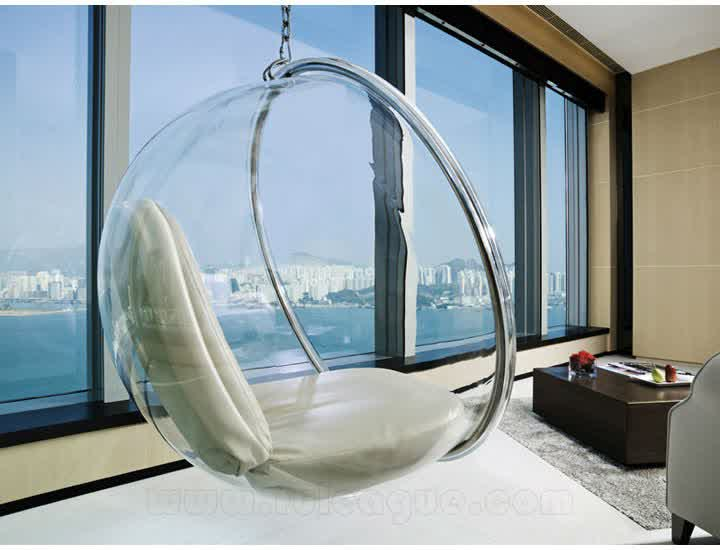 Clear Hanging Chair For Indoor And Outdoor Homesfeed