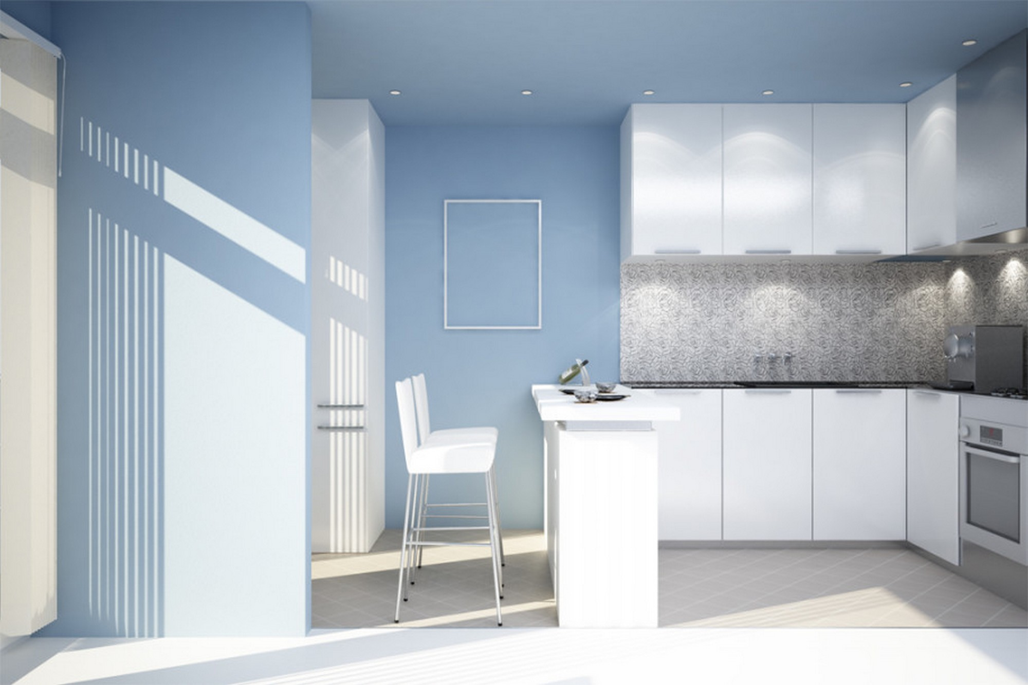 White Kitchen Wall Color Feel A Brand New Kitchen With These Popular Paint Colors