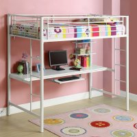 Girls Loft Bed with Desk: Design Ideas and Benefits ...