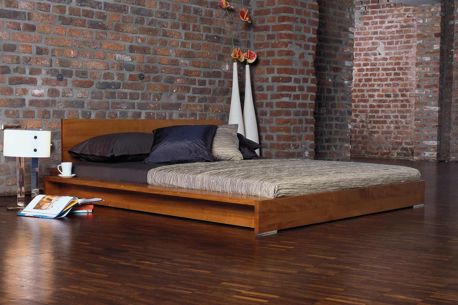 Schlafzimmergestaltung Minimalist Platform Bed Designs And Pictures Homesfeed