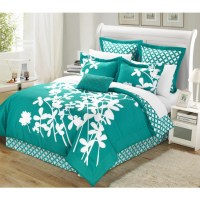turquoise bed set - 28 images - turquoise and white ...