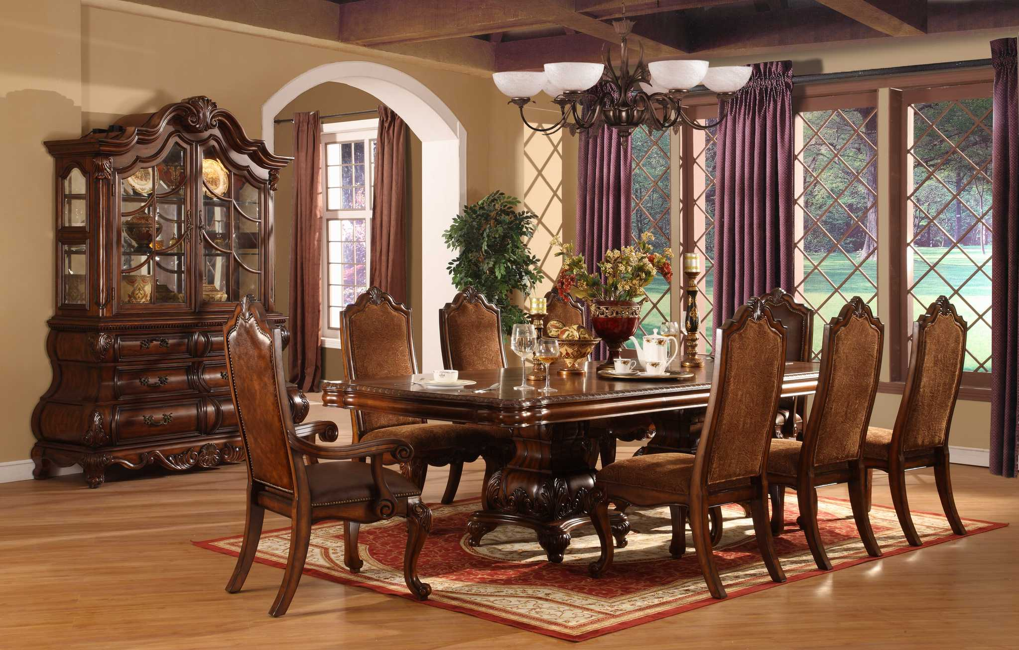 Fancy Dining Room Sets Perfect Formal Dining Room Sets For 8 Homesfeed