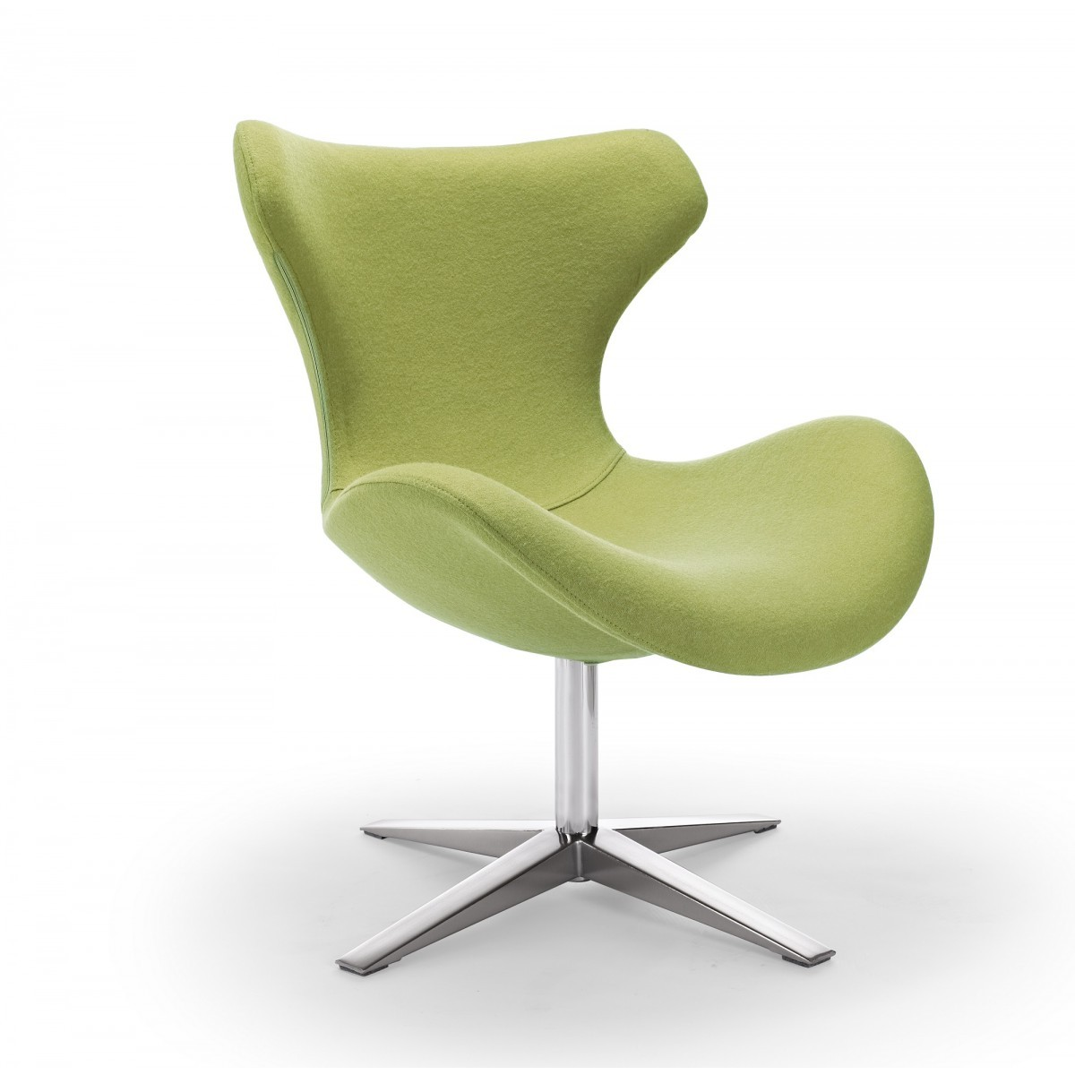 Cool Modern Chairs Cool Lime Green Accent Chair Homesfeed