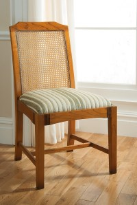 Antique Cane Back Dining Chair | HomesFeed