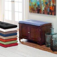 Comfortable Bench Pads Indoor   HomesFeed
