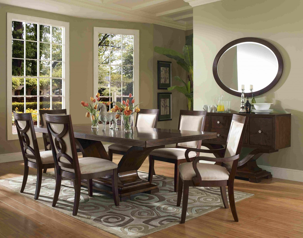 Spiegel Esszimmer Silber Perfect Formal Dining Room Sets For 8 Homesfeed