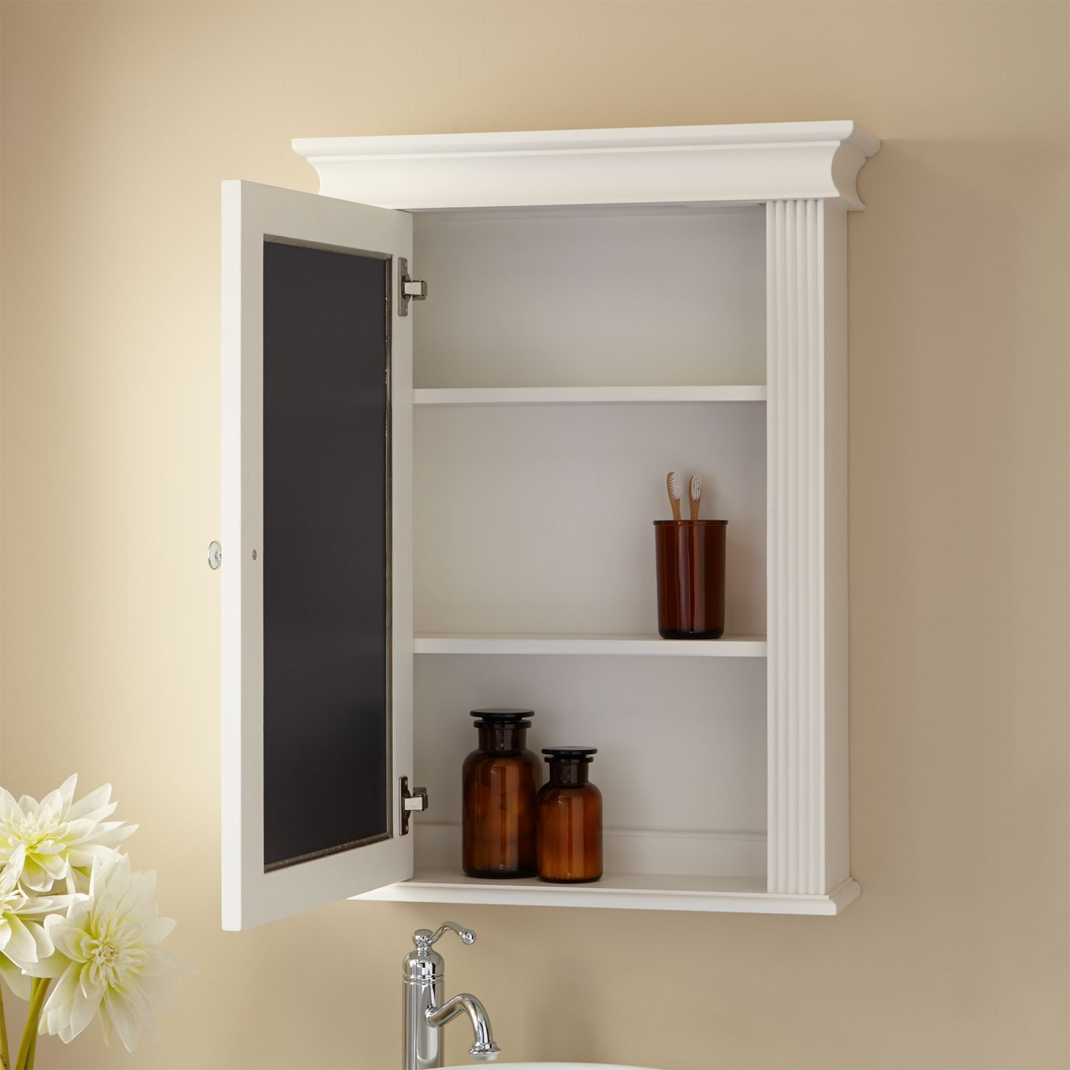 Wall Mirror No Frame Good Recessed Medicine Cabinet No Mirror – Homesfeed