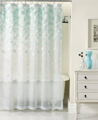 Awesome Clear Shower Curtain With Design | HomesFeed