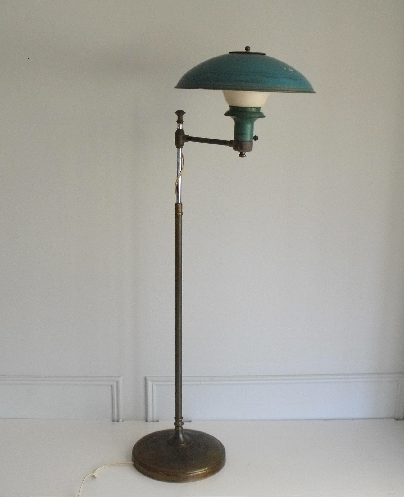 Lamp Cool Cool Turquoise Floor Lamp Homesfeed