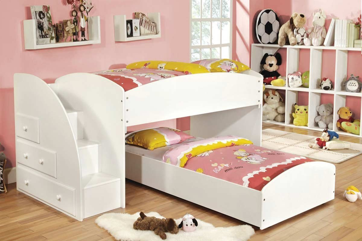 Toddler Bunks Best Toddler Bunk Beds With Stairs Homesfeed