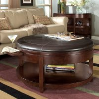 Awesome Round Coffee Tables with Storage | HomesFeed