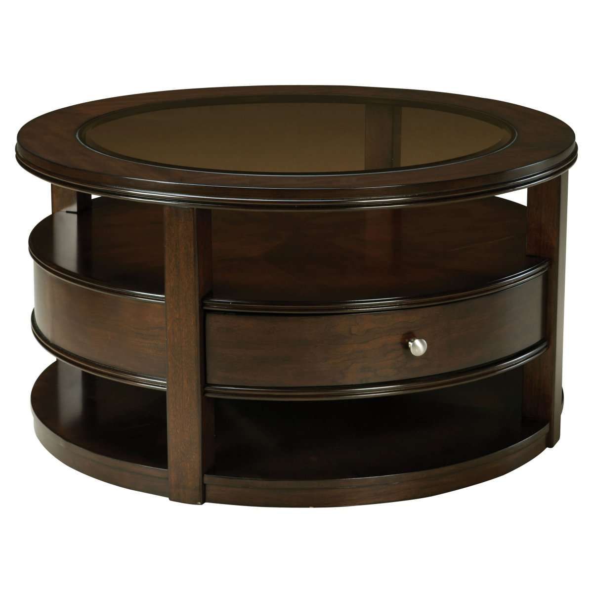 Round Coffee Table With Storage Awesome Round Coffee Tables With Storage Homesfeed