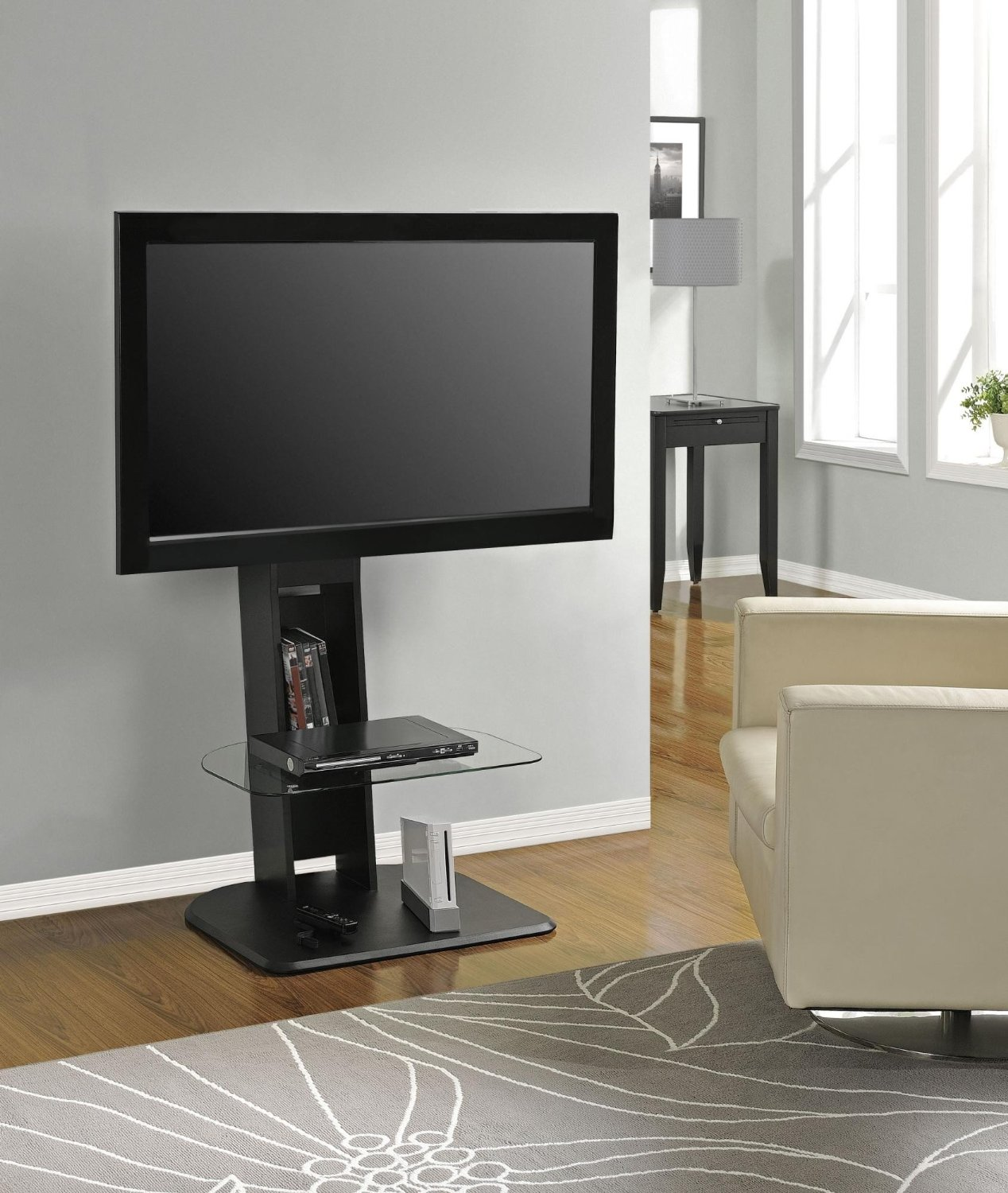 Tv Stand Cool Flat Screen Tv Stands With Mount Homesfeed