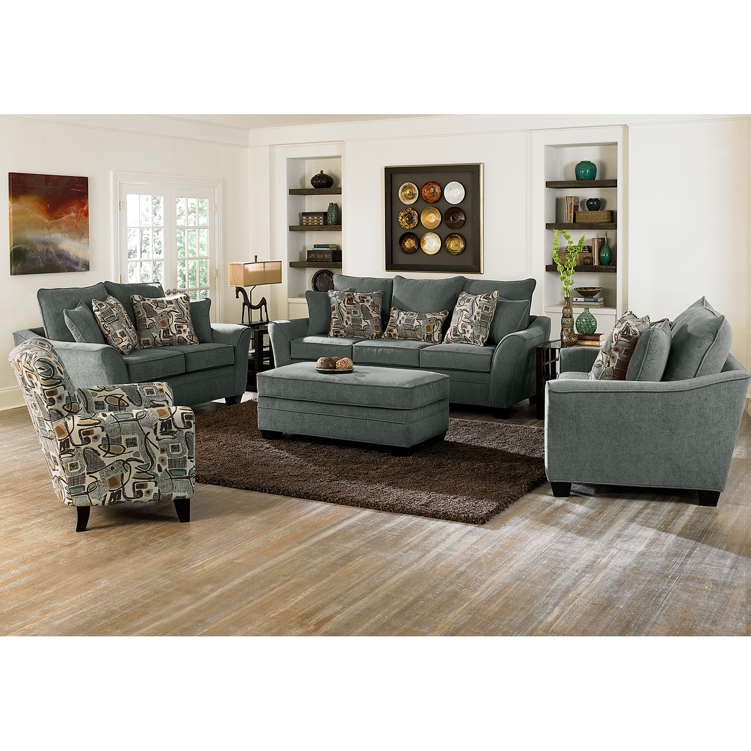 Living Room Ottoman Living Room Chair And Ottoman