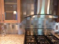 Modern Ikea Stainless Steel Backsplash | HomesFeed