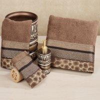 Perfect Animal Print Bath Towels | HomesFeed