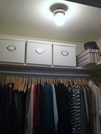 Closet Lighting Fixtures | HomesFeed