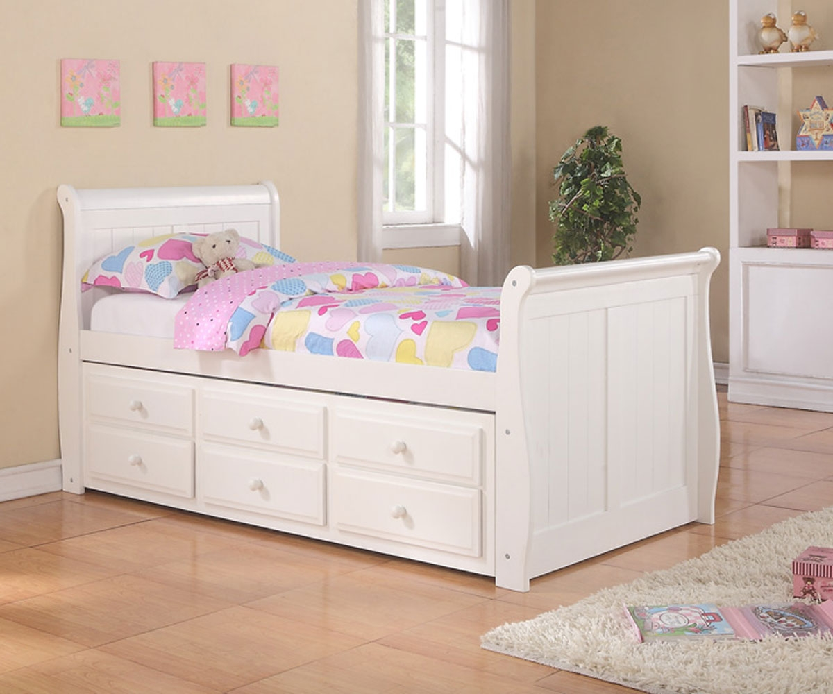 Single Bed With Storage Drawers Awesome Twin Bed With Drawers Underneath Homesfeed