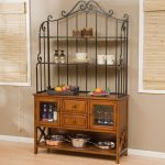 Wooden-Baker-Rack-And-Metal-Material-WIth-Cabinets-And-Drawers-For-Kitchen-Stuffs-150x150  %Image Name
