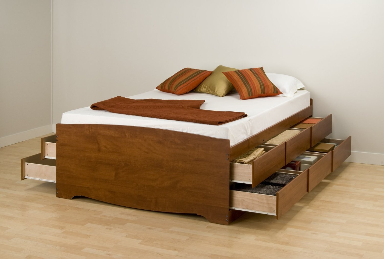 Bed With Drawers Underneath Awesome Twin Bed With Drawers Underneath | Homesfeed
