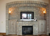 Stone Fire Places | HomesFeed