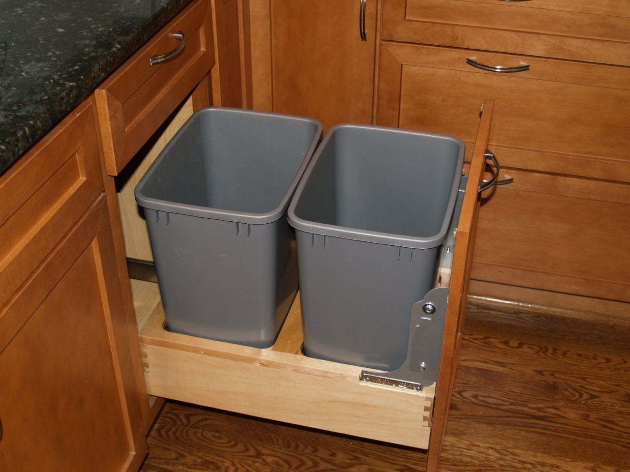 Kitchen Garbage Solutions Ikea Recycling Bin More Than Just Waste Sorting Homesfeed