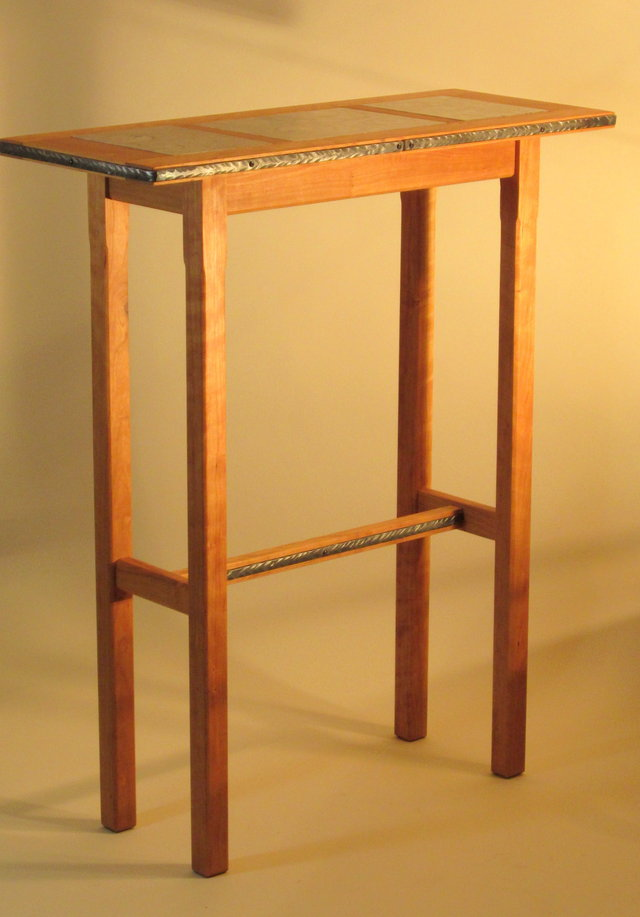 Tall Table Tall Accent Table, A Stylish Item For Utilizing The Empty