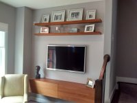 Media Wall Shelves: Designs & Pictures | HomesFeed