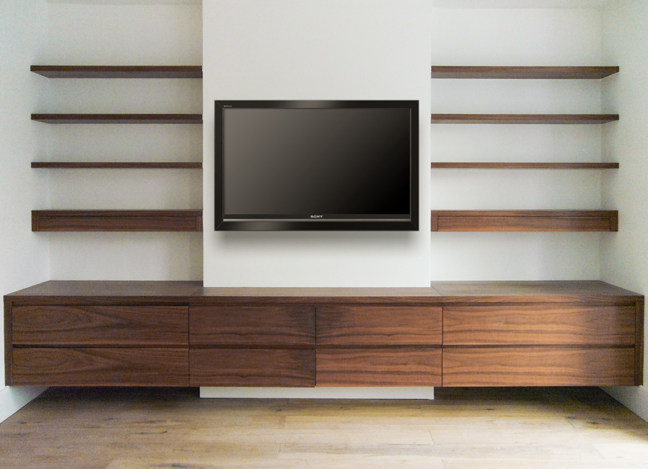 Pictures Of Wall Shelves Media Wall Shelves Designs And Pictures Homesfeed