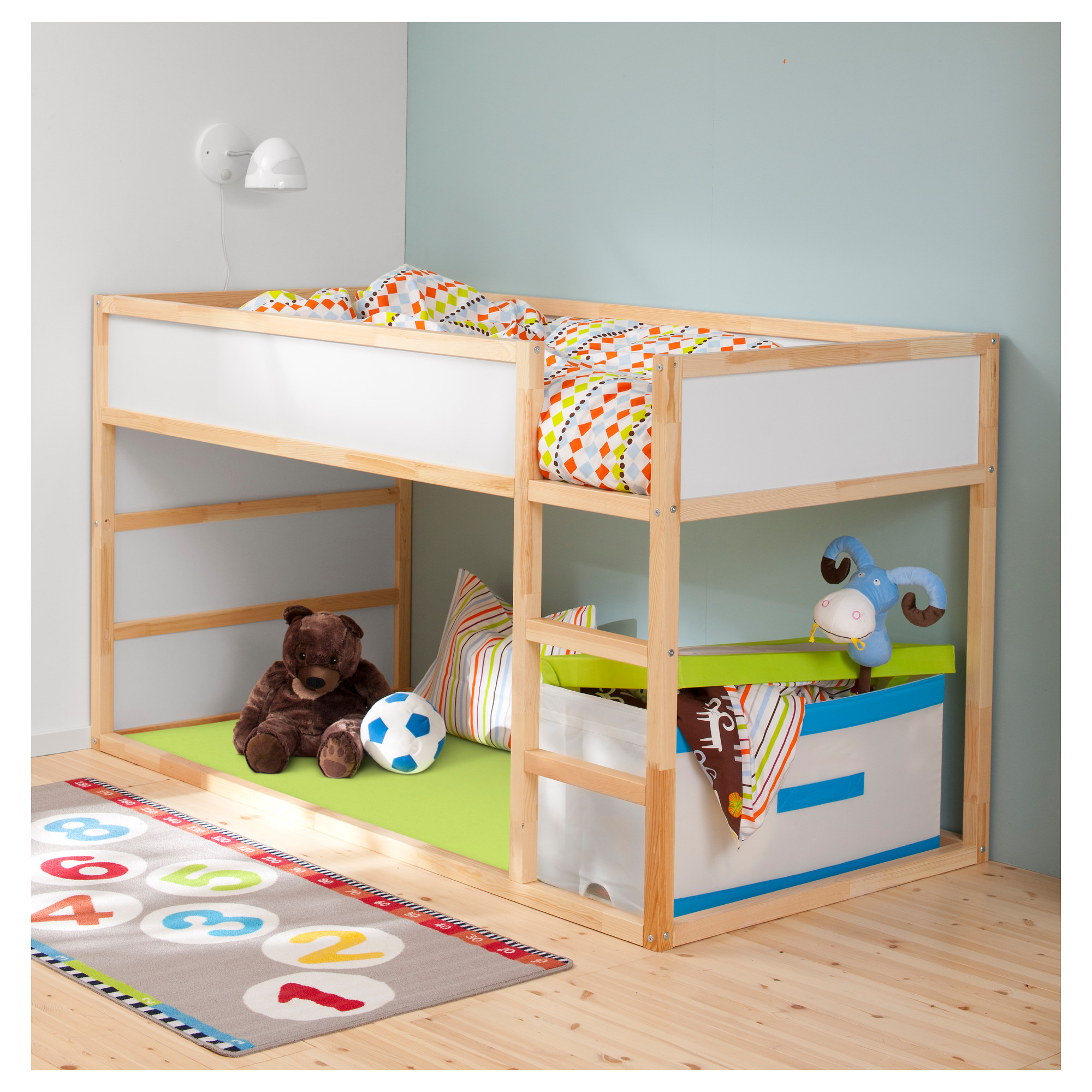 Double Loft Bed For Kids Ikea Kids Loft Bed A Space Efficient Furniture Idea For