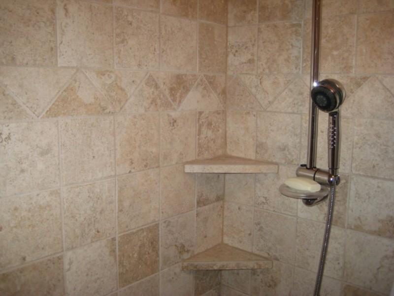 60 Fascinating Shower Shelves for Better Storage Settings