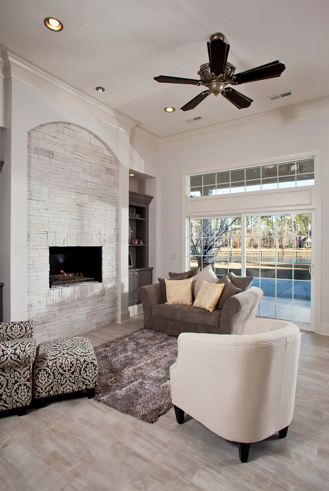 Whitewash Brick Fireplace 30 Ideas Of Stylish White Brick Fireplace | Homesfeed