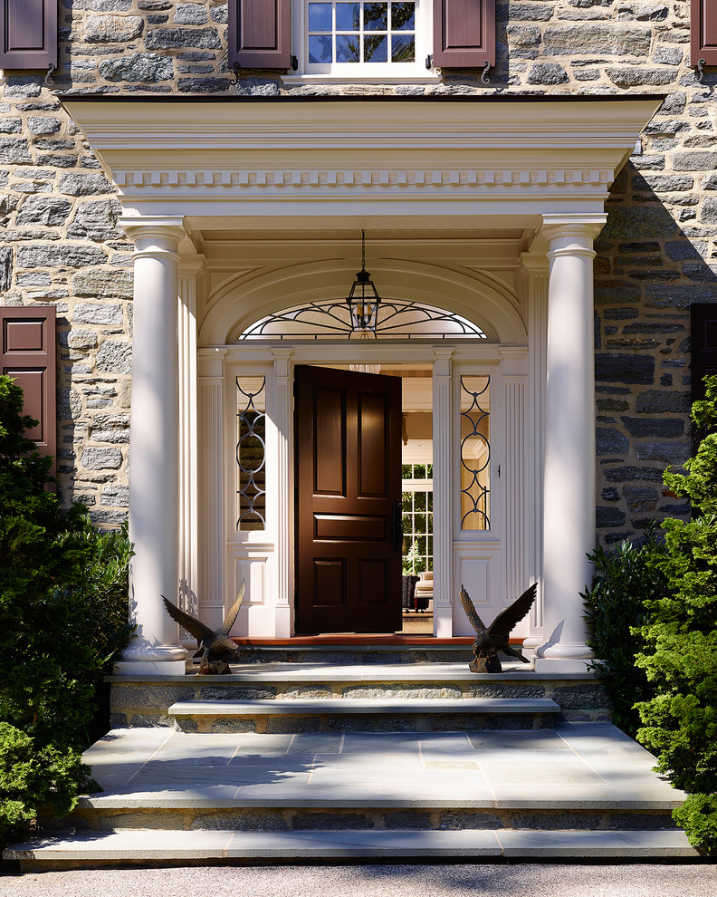 Refresh Your Entryway with These Colonial Front Door