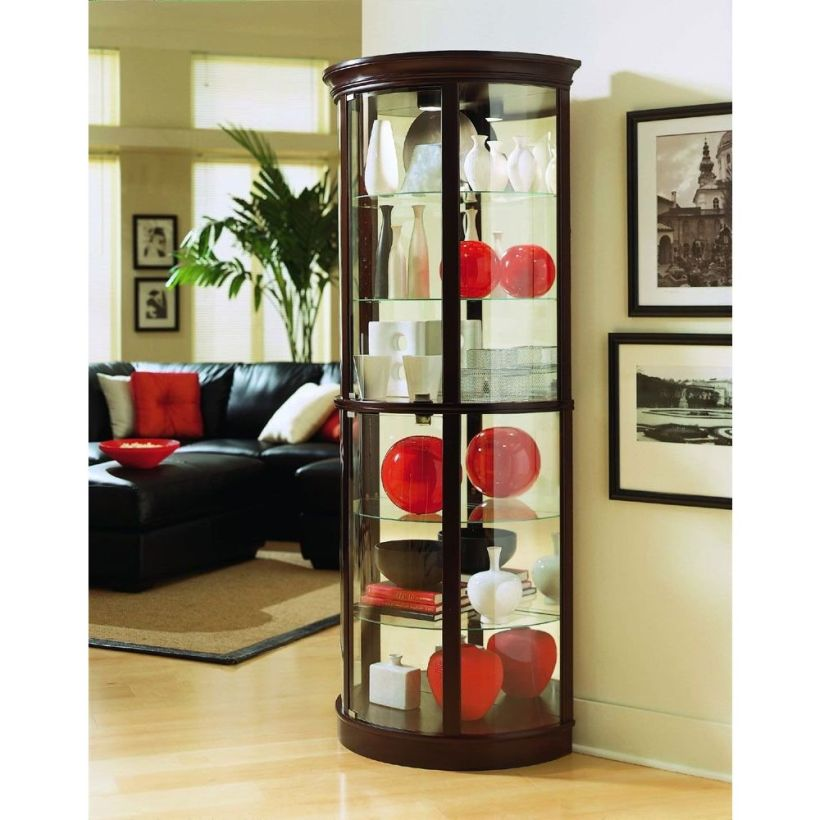 Curio Cabinet Ikea Elegant Display Cabinet Amusing Glass Door Elegant Corner Curio Cabinet Ikea – Homes Furniture Ideas