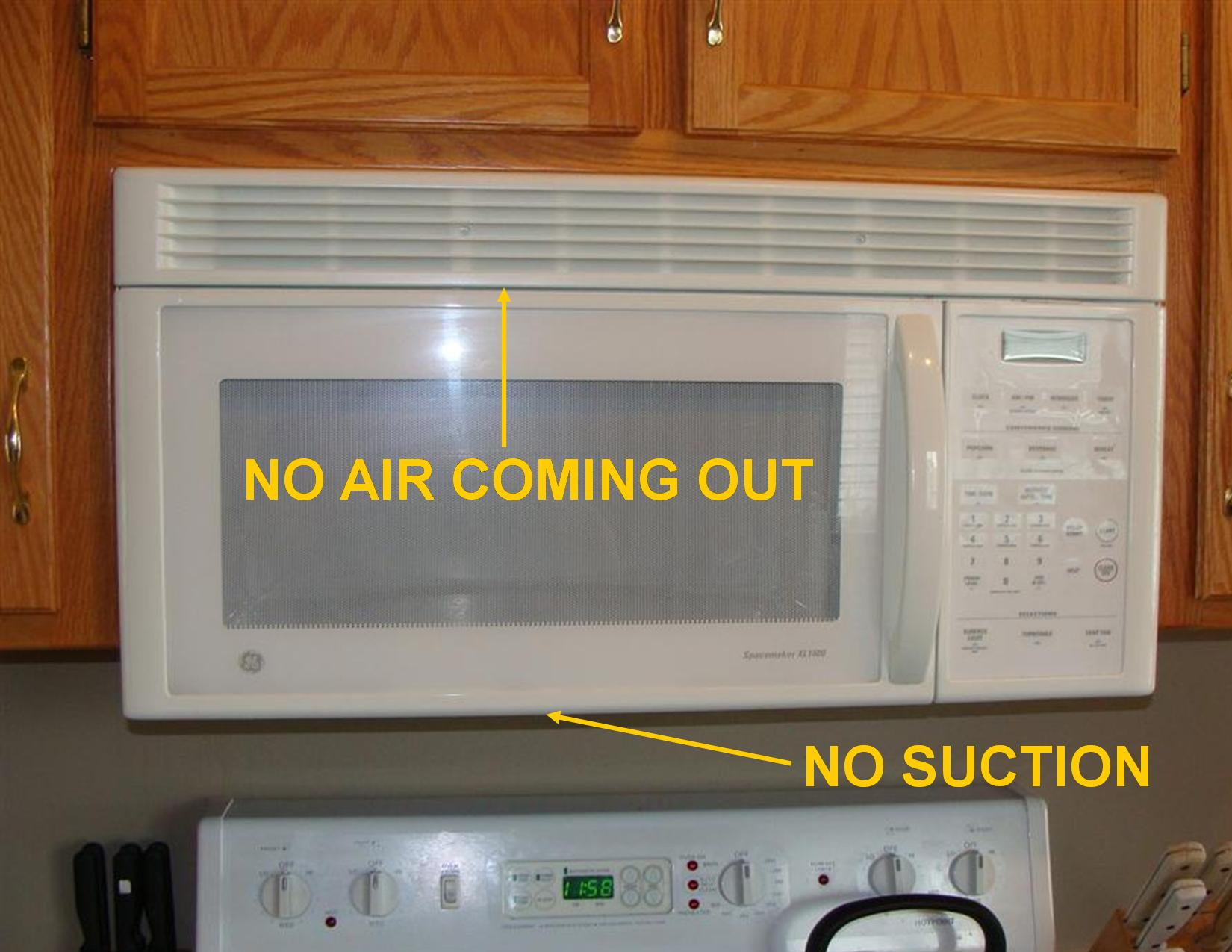 Defects With Range Hood Fans Structure Tech Home Inspections