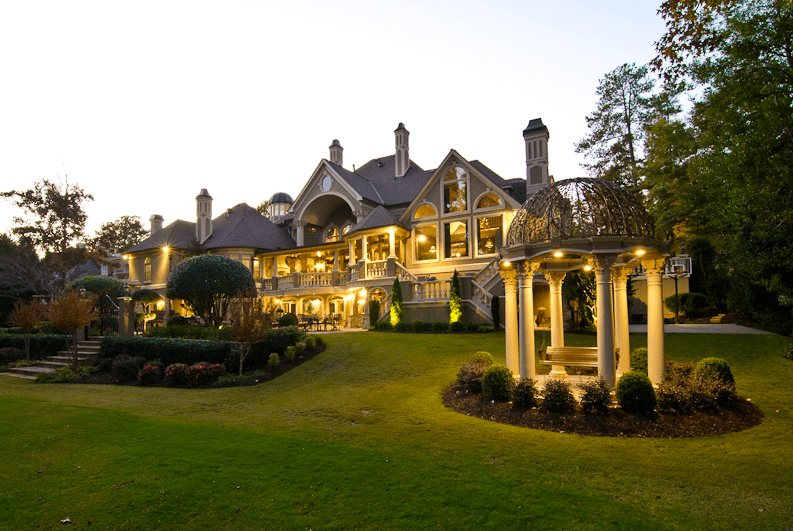 13000 Square Foot European Style Mansion In Johns Creek