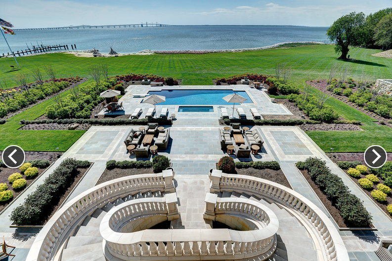 Stevensville Maryland $34.5 Million 23,000 Square Foot Waterfront Mansion In