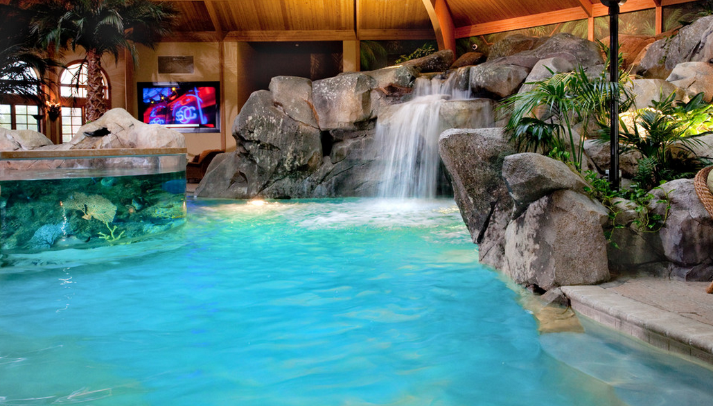 Insane 3d Wallpaper Download A Look At Two Indoor Swimming Pools By Shehan Pools