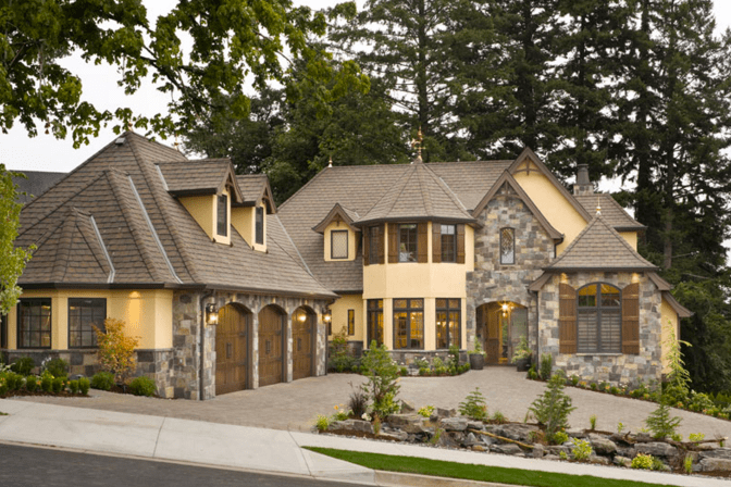 16 Beautiful Stone & Stucco Homes | Hotr