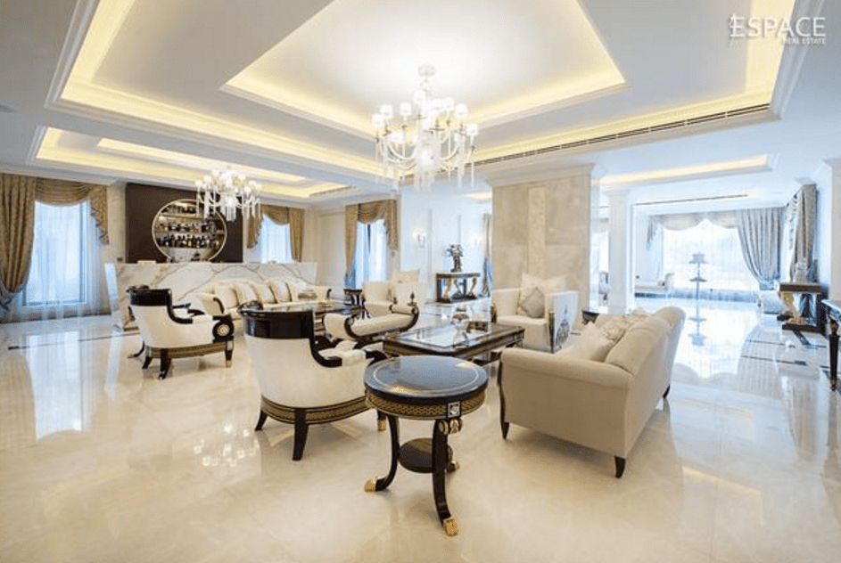 Bathrooms 23,000 Square Foot Mega Mansion In Dubai | Homes Of The Rich