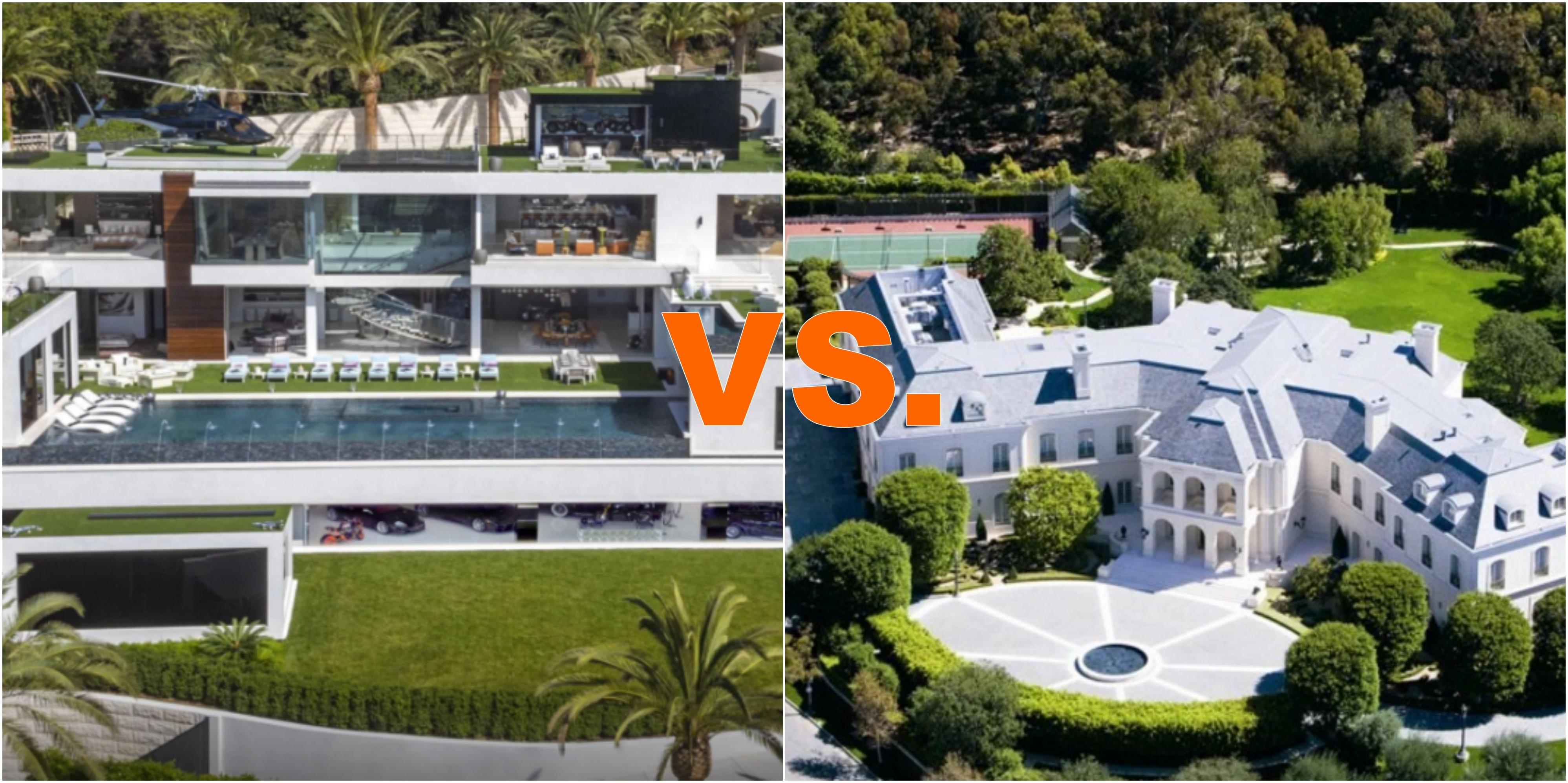 Bel Air Mega Mansion For Sale Battle Of The 200 43 Million Los Angeles Mega Homes Homes