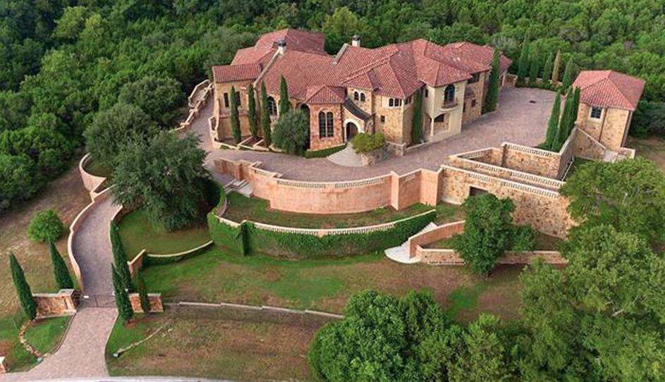 Italian Inspired Mansion In Austin Texas Homes Of The Rich