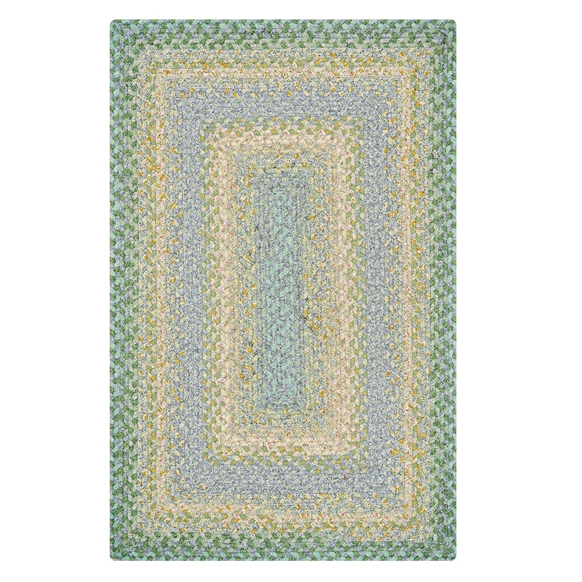 Online Rugs Buy Baja Blue Cotton Braided Rugs Online Homespice