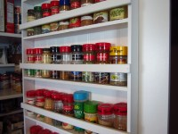 DIY Pantry Spice Rack | Home Staging In Bloomington Illinois