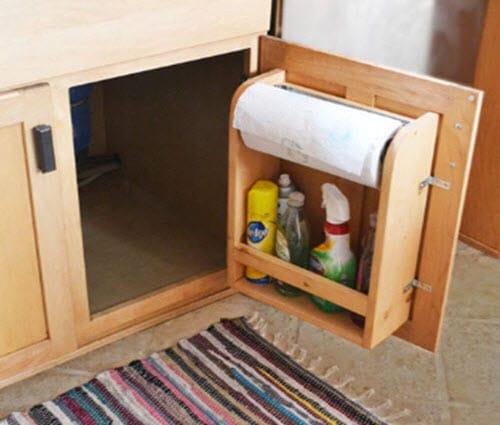 kitchen cabinet door organizer paper towel holder simple kitchen cabinets store food supplies