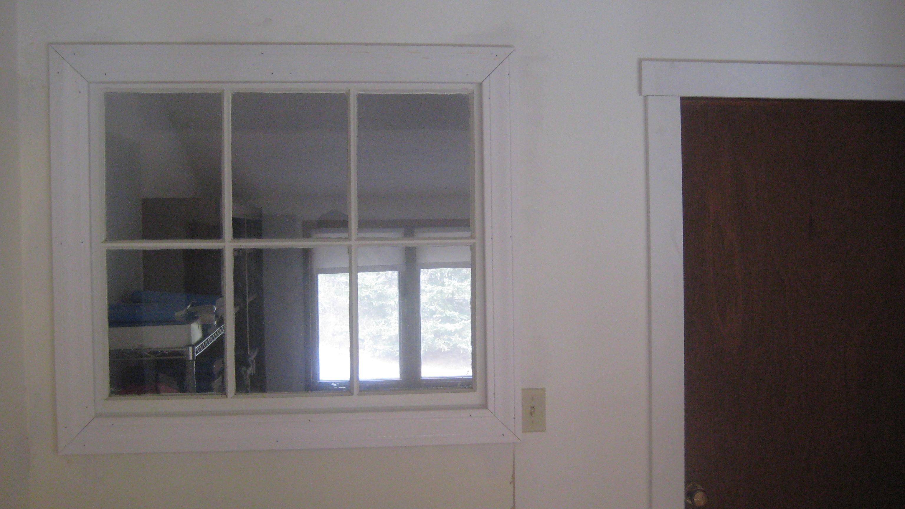 Indoor window trim how wide the trim should